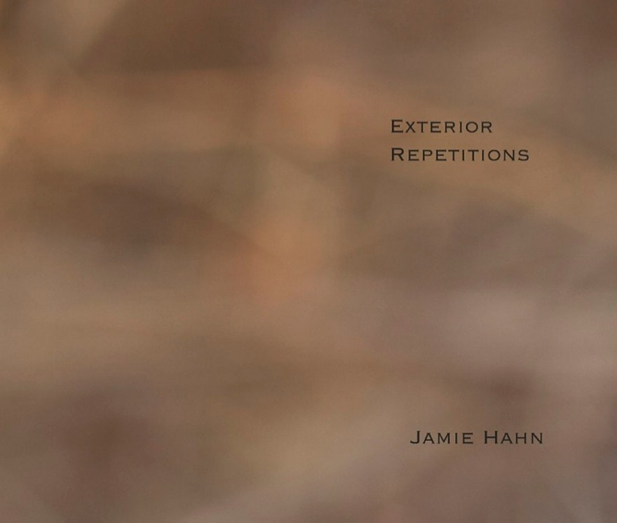 Exterior Repetitions, artist book, 11x14, 200 pages, Jamie Hahn, 2009