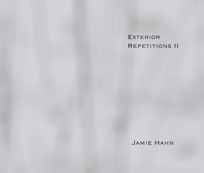 Exterior Repetitions II, artist book, 11x14, 200 pages, Jamie Hahn, 2010