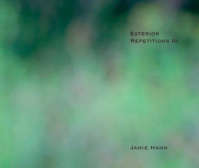 Exterior Repetitions III, artist book, 11x14, 250 pages, Jamie Hahn, 2011