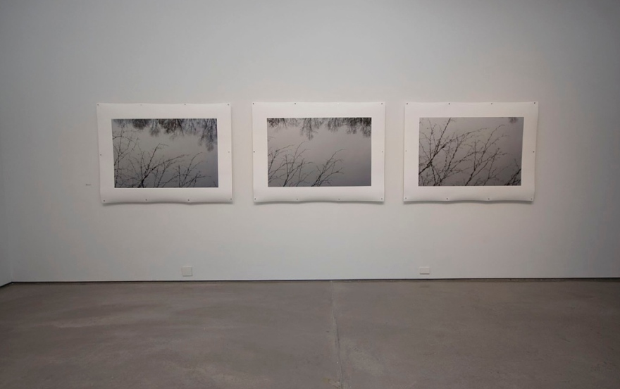 "Jamie Hahn, ""Surface, Rhythm & Reflection"", (3) 45x60, archival inkjet print installation, Figure Ground Rhythm Thesis Exhibition, 2010"