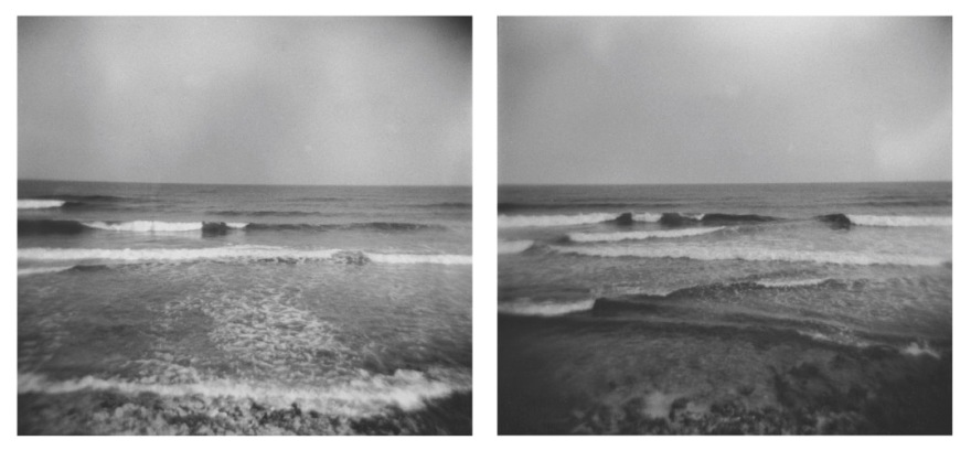 "Jamie Hahn, ""Between Home & Time: II"", (2) 45x55, archival inkjet prints, 2015"