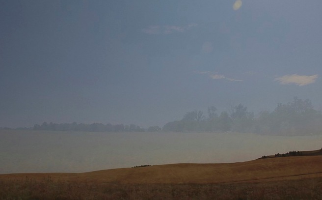 Merging Space, Merging Place, 43:40, Jamie Hahn, 2012, still from single channel video